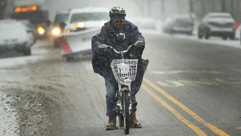 Alerta en 16 estados por tormenta de hielo