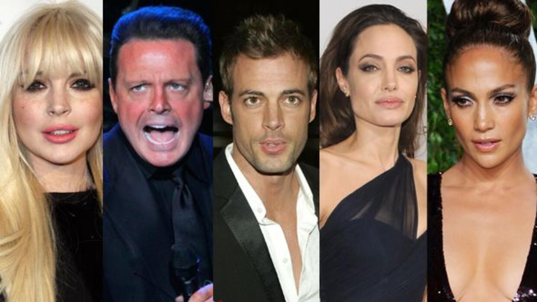 Seguramente Lindsay Lohan, Luis Miguel, William Levy, Angelina Jolie o J...