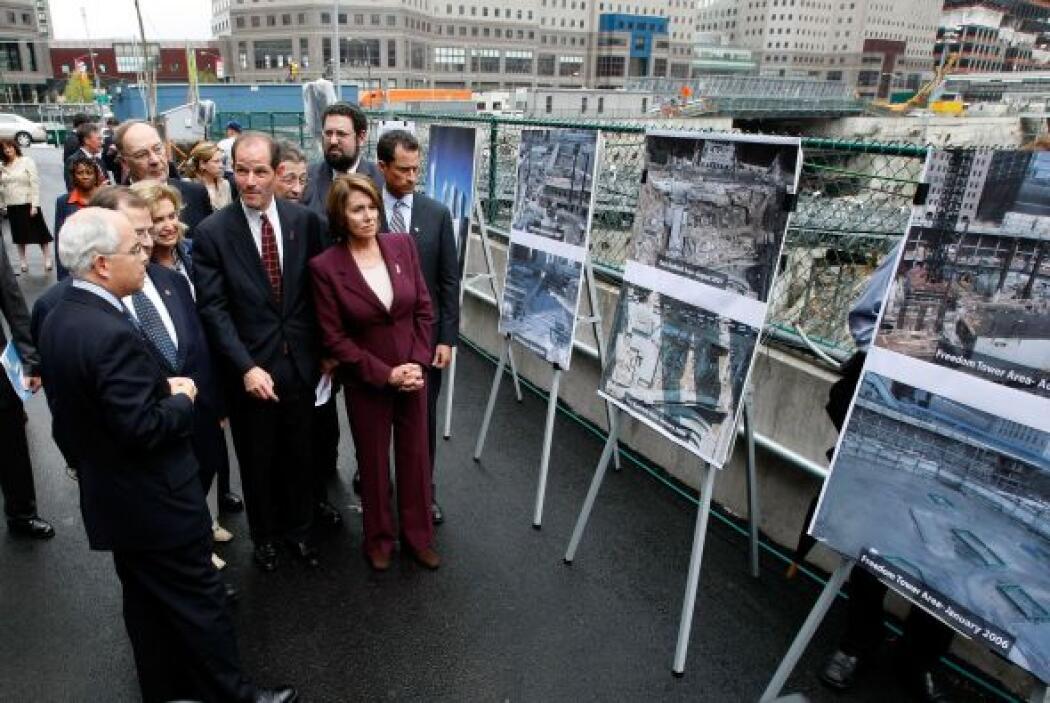 28. Sexto aniversario del 9/11  Autoridades de NY y familiares de los ca...