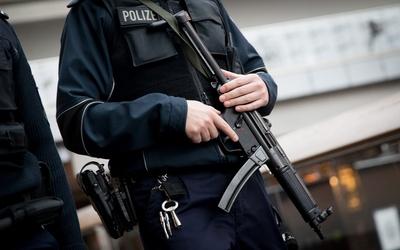 Agentes de la policía en Berlín.