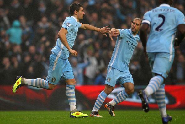 El City reaccionó en la segunda parte, primero con un gol de Alek...