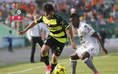 Chiapas rescató el empate ante Santos