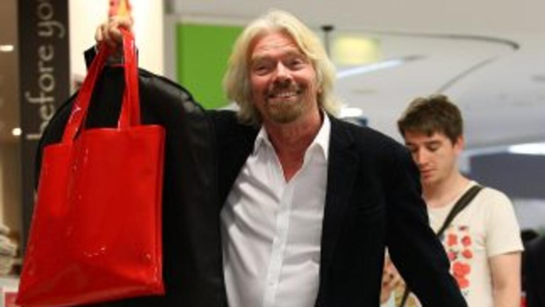 Richard Branson, el dueño del Grupo Virgin.