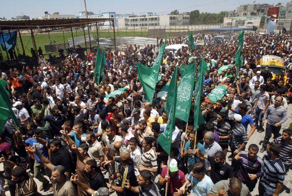 Bombardeos en Gaza