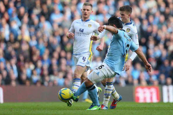 El hombre del Manchester City se dio un lujo de encuentro en la FA Cup a...