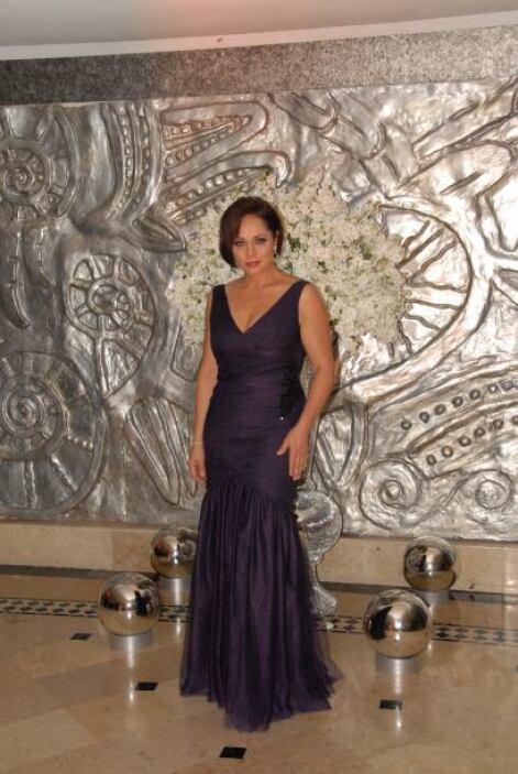 La actriz Cecilia Gabriela fue una de las famosas invitadas por Pedro y...