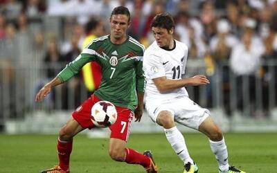 México vs. Nueva Zelanda