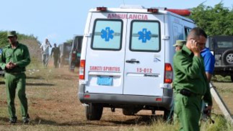 Un total de 79 personas resultaron heridas, dos de ellas graves, como re...