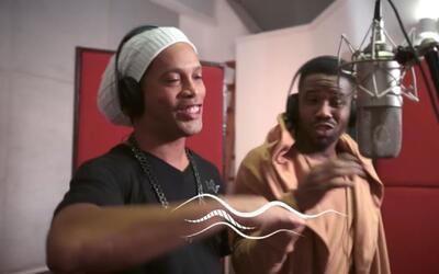 Ronaldinho canta en himno de Juegos Paralímpicos