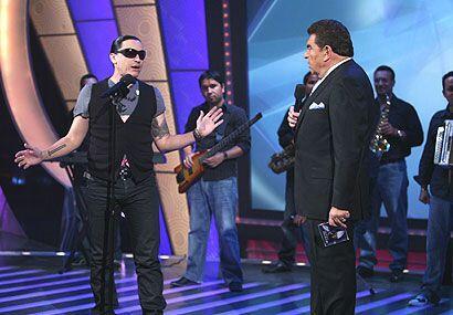 El cantante llevó su merengue al Don.