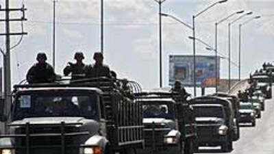 Autoridades mexicanas reforzaron la vigilancia de Ciudad Juárez 951b4b98...