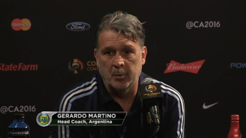 Gerardo Martino: ''Estoy ilusionado con el título de Copa América''