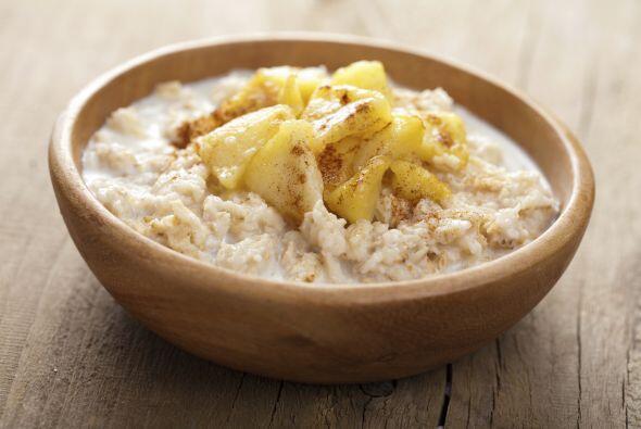 Los cereales Como la avena, nos proporcionan energía la cual es mejor te...