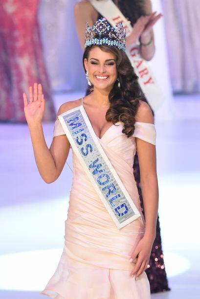 Rolene Strauss, de Sudáfrica, fue elegida Miss World 2014 este domingo 1...