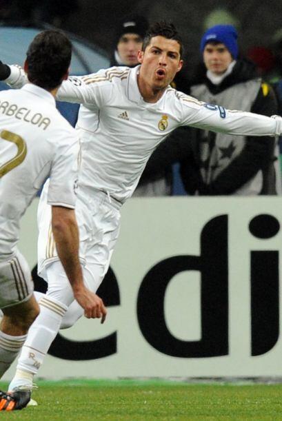 Una desatención de los locales fue aprovechada por Cristiano Ronaldo.