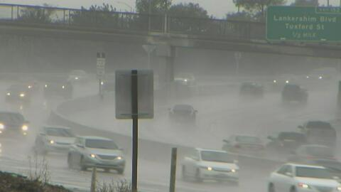 Las fuertes lluvias provocan el cierre de varias autopistas