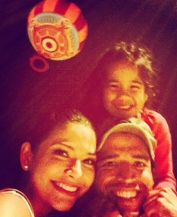 """#Family #Love #Michaella #HotAirBallon"", compartió Ana. (Mayo 2, 2014)"