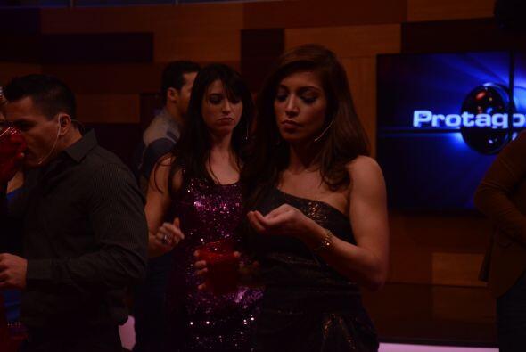 Laura y Shanik se olvidaron de su rivalidad y pasaron un bomba.
