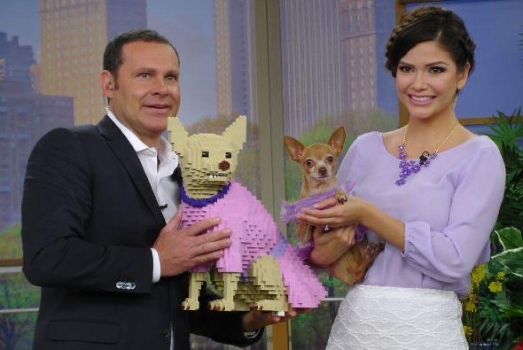 Ana Patricia se llevó una gran sorpresa al conocer a la doble de Honey B...