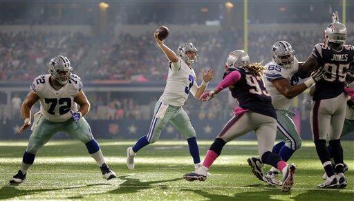Los Cowboys se quedaron sin brillo ante los Patriots con un contundente...