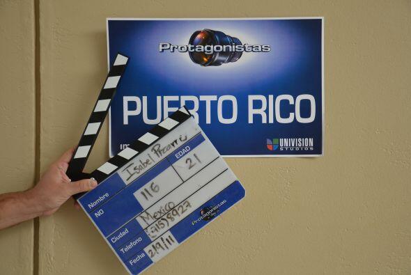 La noche anterior llegó la producción a Puerto Rico para coordinar los d...