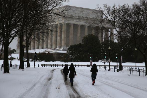 Las oficinas del gobierno federal de Estados Unidos están cerradas en Wa...
