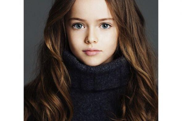 """Kristina ya conocida como """"la niña más bella del mundo""""."""