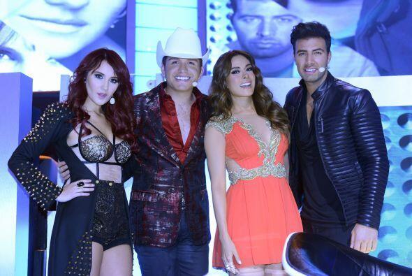 Nuestros talentosos capitanes, Dulce María, El Dasa y Jencarlos Canela,...