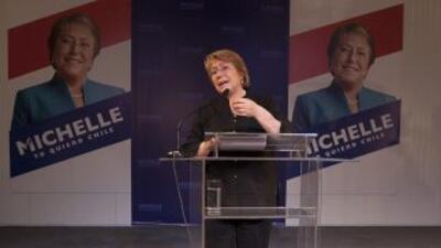 Michelle Bachelet, candidata de la oposición