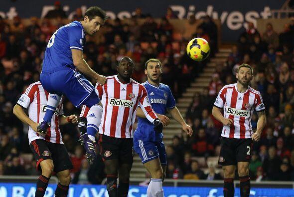 Pero Frank Lampard, capitán de los 'Blues', igualó el marcador.