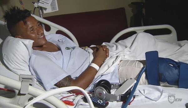 Reconstruyendo la lesión de Luis Garrido