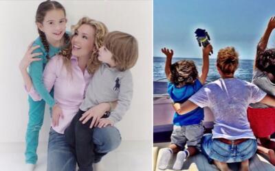 Thalía es una mami muy amorosa