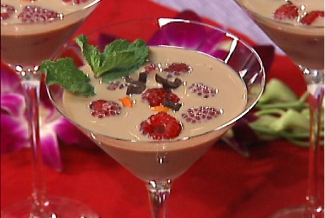 2. Por mucho la mejor combinación es chocolate, vodka y frambuesas. Ahor...
