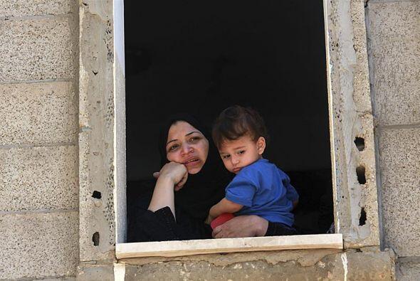 Rostros de la desolación en Gaza