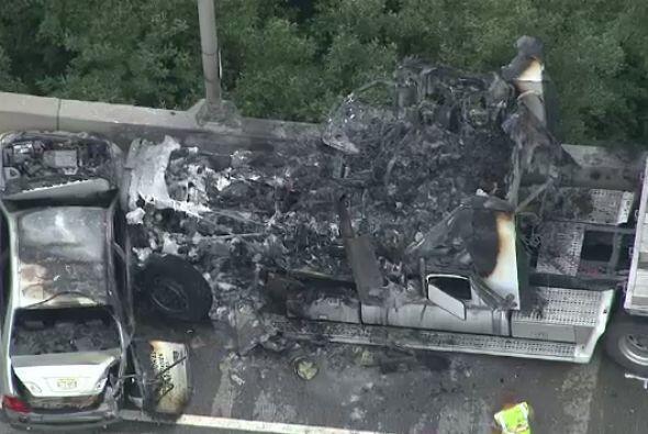 Tres hombres murieron en un accidente de camión con remolque en la Ruta...