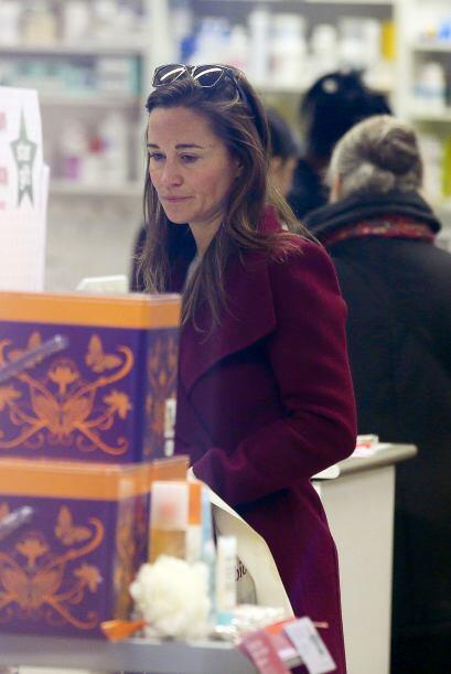 "Pippa Middleton salió de compras con un look muy ""naturalito..."