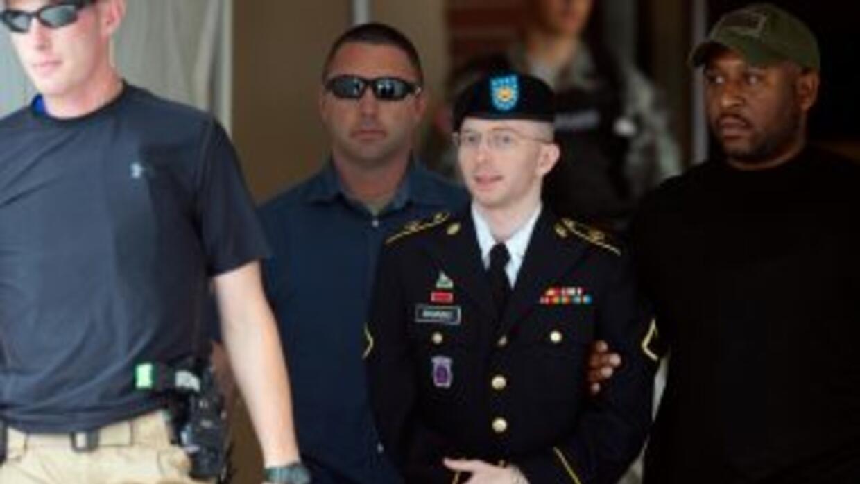 Manning fue declarado culpable de 19 cargos, cinco de espionaje, cinco p...