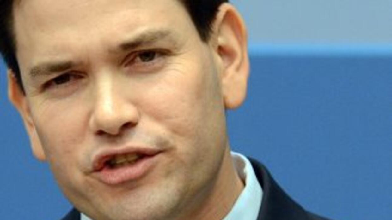 El Senador Marco Rubio (republicano de Florida) propone una versión de D...