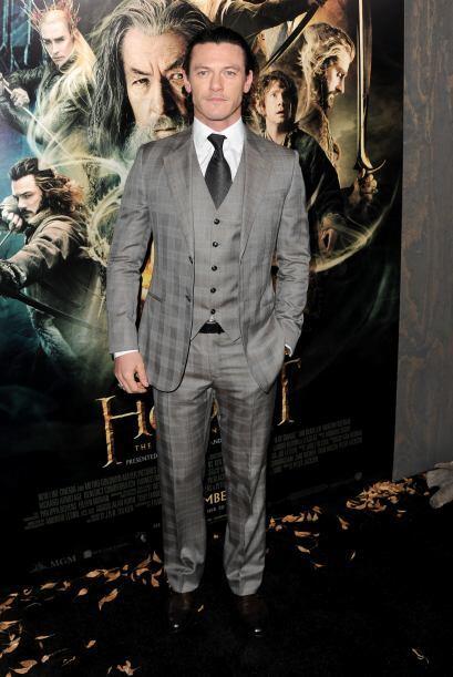 La verdad es que la combinación de Luke Evans no nos fascinó, ese traje...