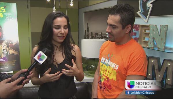 """Auriespacio: los protagonistas de """"No manches Frida"""" visitan Chicago"""