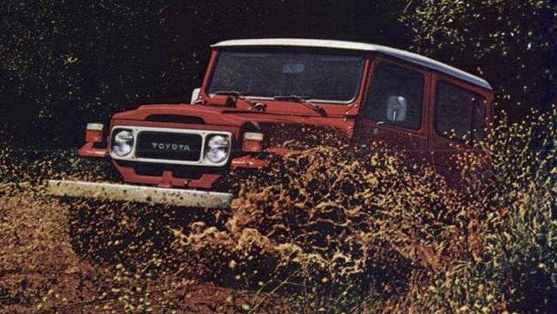 Toyota FJ40 Land Cruiser 1982