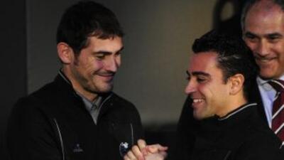 Casillas y Xavi mantienen una buena amistad fuera de las canchas.