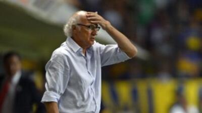 Carlos Bianchi no le encuentra la mano a este Boca.