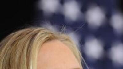 La secretaria de Estado, Hillary Clinton, arremetió contra Rusia luego d...
