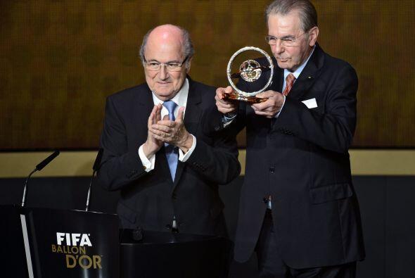 Blatter concedió la Distinción Presidencial 2013 al belga...
