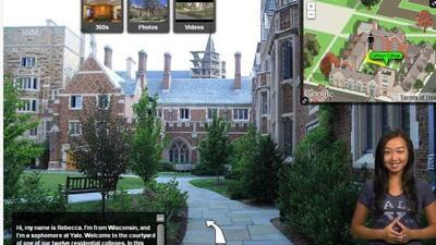 YouVisit te permite visitar la universidad que desees sin salir de casa...