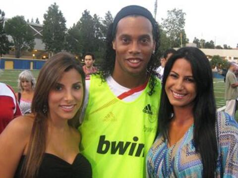 Nuestras Senadoras se fueron a Los Angeles a ver al Milan y al Galaxy.