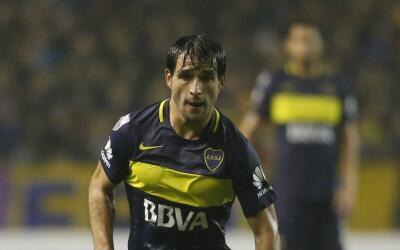 Nicolás Lodeiro con Boca Juniors
