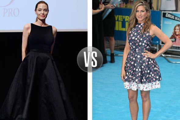 Indudablemente este versus se lo gana Jennifer Aniston por estar a la mo...
