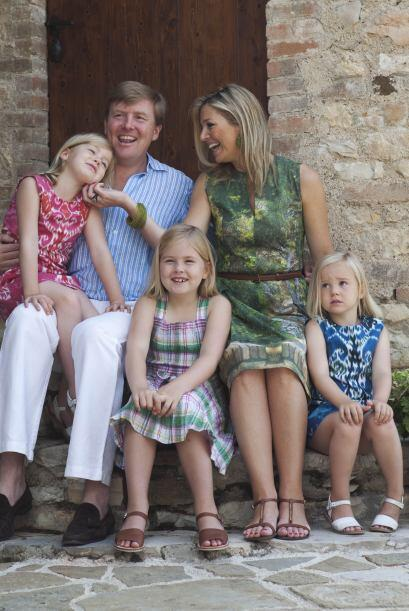 Catharina-Amalia es la hija del rey Willem Alexander y su esposa la rein...